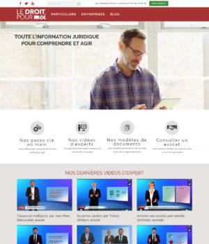 site e-commerce Le Droit Pour Moi